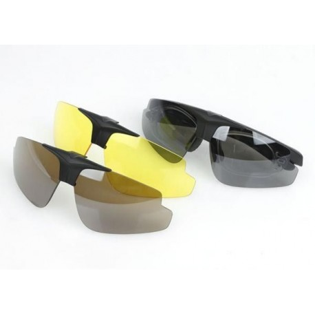 Gafas C2 Policarbonato NEGRO