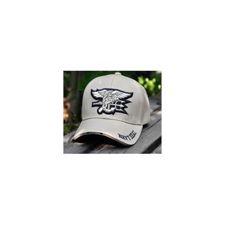 Gorra Baseball Navy Seals Team TAN
