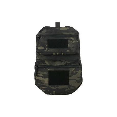 Panel trasero Mod2 Multicam Negro