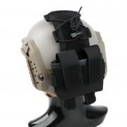 Funda bateria Casco Negro Mk2