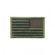 Parche Bandera Americana verde.