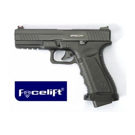 Pistola ACP601 NEGRO CO2