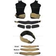 Cinturon de combate khaki new version