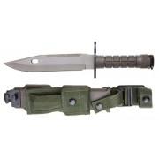 Bayoneta M9 con funda verde